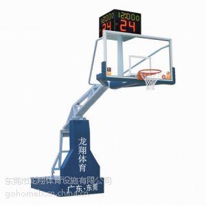 供应东莞电动液压篮球架LX-001