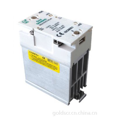 【美国固特厂家直销】SSR散热一体固态继电器SAH4825D窄 CE认证