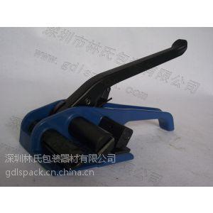 供应纤维带打包机,台湾元贝纤维柔性带拉紧器