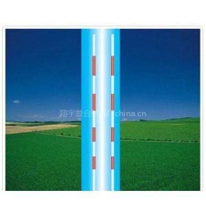 供应排球标杆/红白相间/玻璃纤维棒/道路交通标志杆