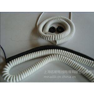 供应弹簧电缆 螺旋弹簧电缆 3*6 1*4弹簧电缆高塔垂直使用弹簧电缆