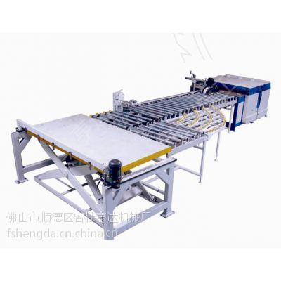供应亨达自动收送料多片锯数控生产线多片锯MZD1300