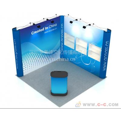 携带方便画面平整的弧形拉网展架带画面工厂批发价-DMJ