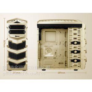 供应金河田进化7625土豪金 USB3.0电脑机箱