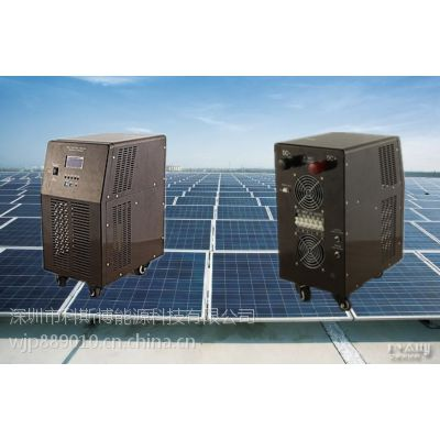 供应【深圳科斯博4000W太阳能逆控一体机】 24V转220V家用逆变器 市电互补带UPS功能