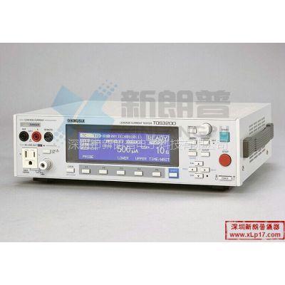 日本菊水KIKUSUI|TOS3200泄漏电流测试仪