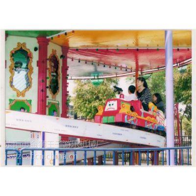 供应豪华激光立交列车儿童游乐场设备