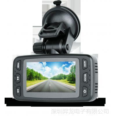 安霸 A7方案前后双路高清行车记录仪  外拉防水镜头   D37