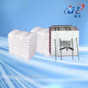 火炬保温材料地面火炬保温硅酸铝陶瓷纤维模块顶部防水保护