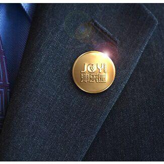 香港定制年会胸章设计定做批发.