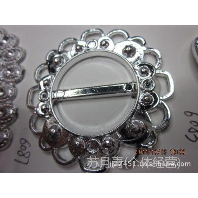(厂家直销)供应各种PPC电镀腰扣  装饰扣