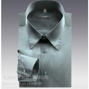 供应订制男式衬衫厂家、上海衬衫订制、首都衬衫定做、帛涛衬衫制作