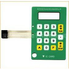 供应机械薄膜开关、电子薄膜按键、薄膜键盘、薄膜面板