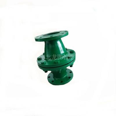 龙图品牌直供福州GZW-1阻爆燃管道阻火器 (DN150 PN1.0) 使用良好 保质保量