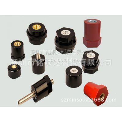 供应机柜/变频器/新能源汽车/高压/低压/红色或黑色BMC/PF绝缘柱 绝缘子