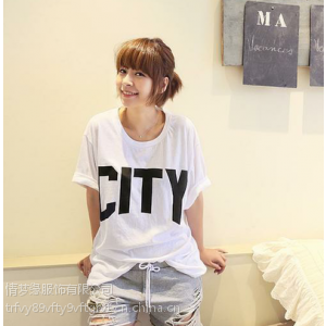 供应2014夏天衣服批发韩版女装T恤批发女装短袖T恤批发女款短袖批发