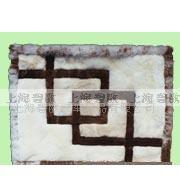 供应纯澳大利亚绵羊毛皮羊剪绒地垫/挂毯