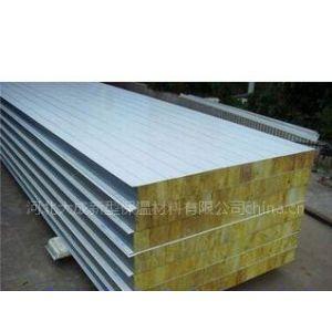供应岩棉彩钢夹芯板,岩棉外墙板,岩棉屋面板