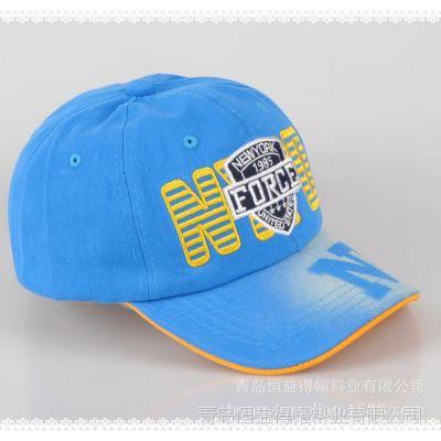 青岛信誉的棒球帽生产厂家恒益得供应定做纯棉棒球帽太阳帽