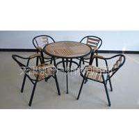 供应天津户外桌椅,休闲桌椅,实木桌椅,铁木桌椅,酒店桌椅