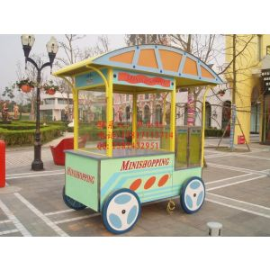 供应青岛市广场售货车,淄博市游乐园售货车,德州市公园售货亭