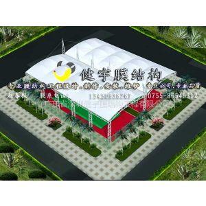供应篮球场遮阳雨棚,膜结构网球场遮阳雨棚