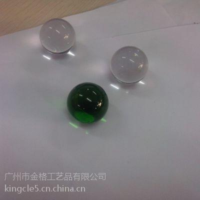 透明玻璃球 水晶k5料玻璃球 玻璃水晶球