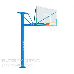 供应广东篮球架单臂T型(地理式)LX-005