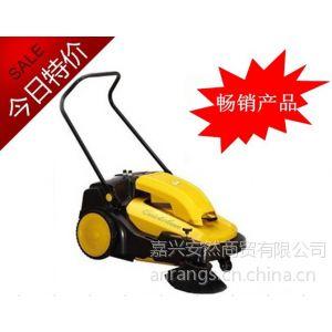 供应驰洁手推式电瓶扫地机CJS70-1,金华食品厂车间道路清扫车