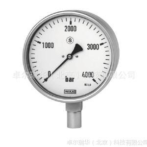 供应WIKA 222.30 223.30 波登管压力表 不锈钢系列 安全型 高压测量