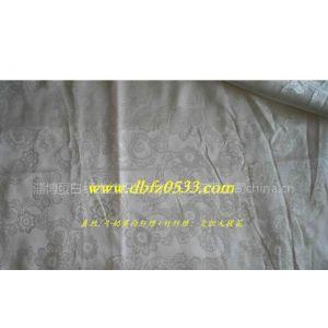 供应真丝/牛奶蛋白纤维 竹纤维:交织大提花面料