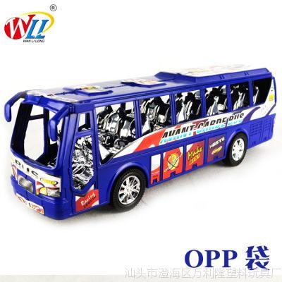 【万利隆玩具】厂家直销批发儿童玩具地摊热卖巴士公交车635