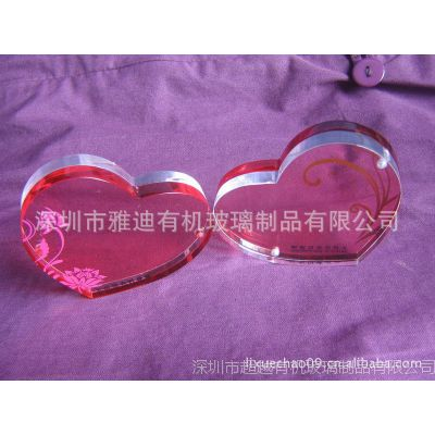 亚克力磁性相框,双色相框,心形相框,高透明进口材料大批量生产