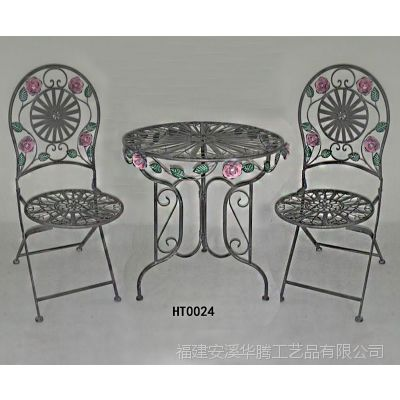 户外组合三件套铁艺咖啡桌椅阳台酒吧餐饮休闲桌椅子花园庭院家居