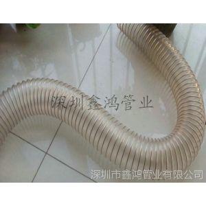 供应镀锌钢丝耐磨管,木工机械吸尘管,钻孔机吸尘管,PU钢丝伸缩软管