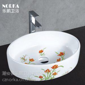 大批量供应批发陶瓷卫浴 半挂盆 艺术盆 外贸挂盆 优质卫浴