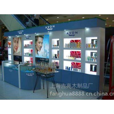 上海化妆品展柜制作 化妆品店设计装修 店面效果图