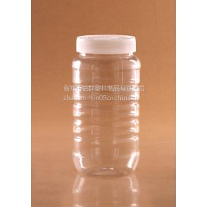 厂家直供益群F2003蜂蜜瓶子,透明塑料密封瓶,食品、腌菜包装瓶,茶叶密封瓶