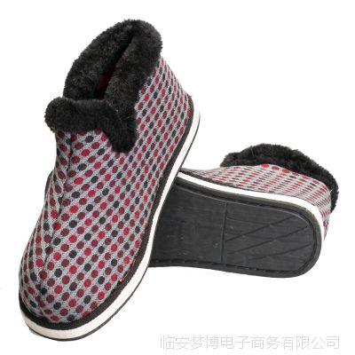男士保暖鞋 中老年棉鞋女 妈妈棉鞋 老人棉鞋 保暖冬季 男鞋棉鞋