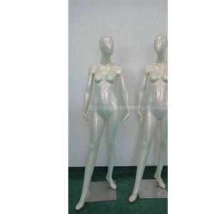 供应新款上市幻彩白女装时尚模特道具