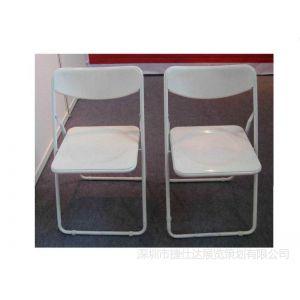 供应深圳大量折叠椅出租 会议椅出租 白色椅子出租
