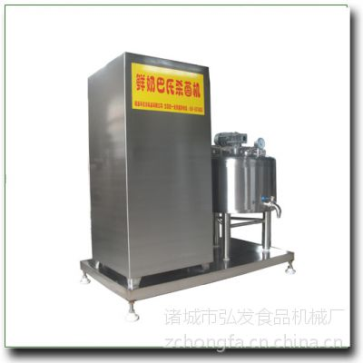 销1000型鲜奶巴氏杀菌机 纯食品级罐式不锈钢制作弘发制造质量可靠