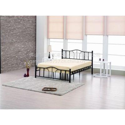 供应特价铁艺双人床/单人床/1.5米*2米 铁艺床 欧式铁床  双人铁床