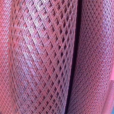 金属扩张网 钢板网的理论重量 圆孔钢板网图片