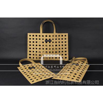 创意沙滩纸袋,编织牛皮纸袋,生产水洗纸购物袋,杭州杜邦纸礼品袋厂家
