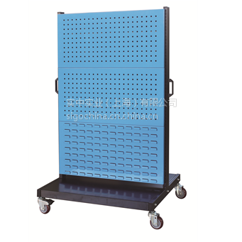 厂家信高立式移动型双面三层物料整理架KM23系列产品