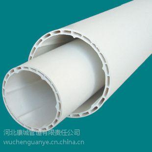 供应PVC双壁中空螺旋消音管