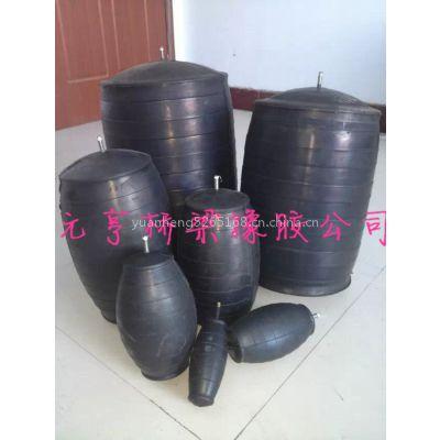 供应天然橡胶气囊用于管道清淤使用直径500mm