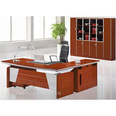 天津三年质保老板台,优质老板台送货,设计优质老板台,各种老板台批发