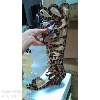 鞋厂看图片按要求加工定制各类时尚欧洲站女鞋